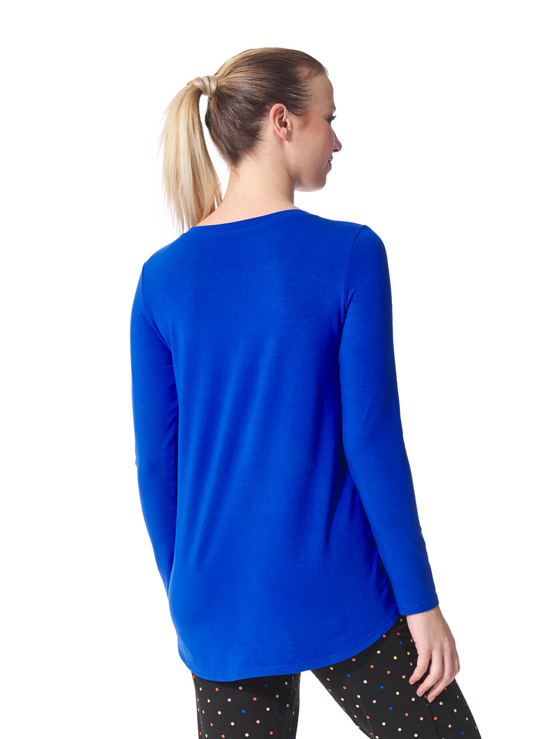 Marie Loungewear Round Neck Top