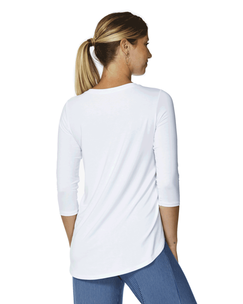 Marie 3/4 sleeve Top