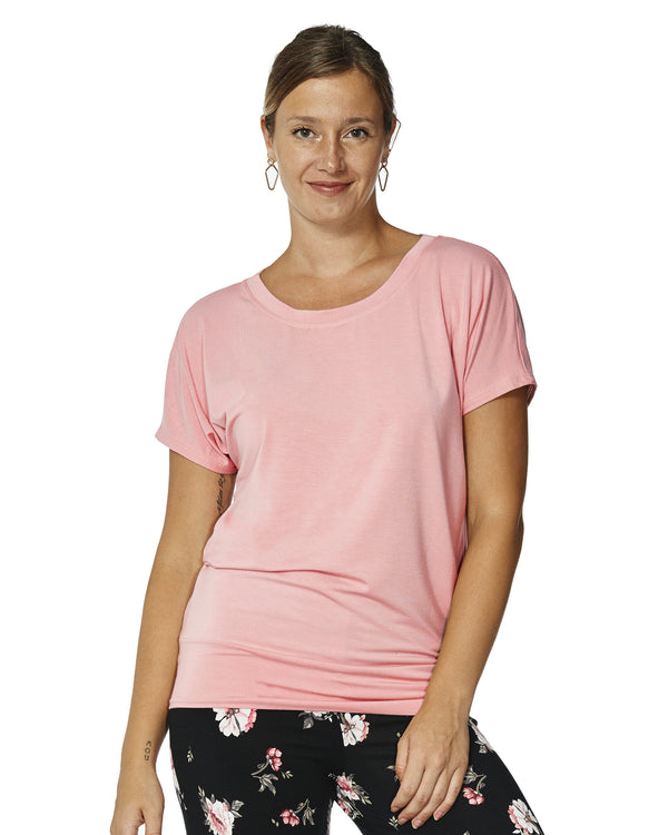 Marie Loungewear Short Sleeve Top