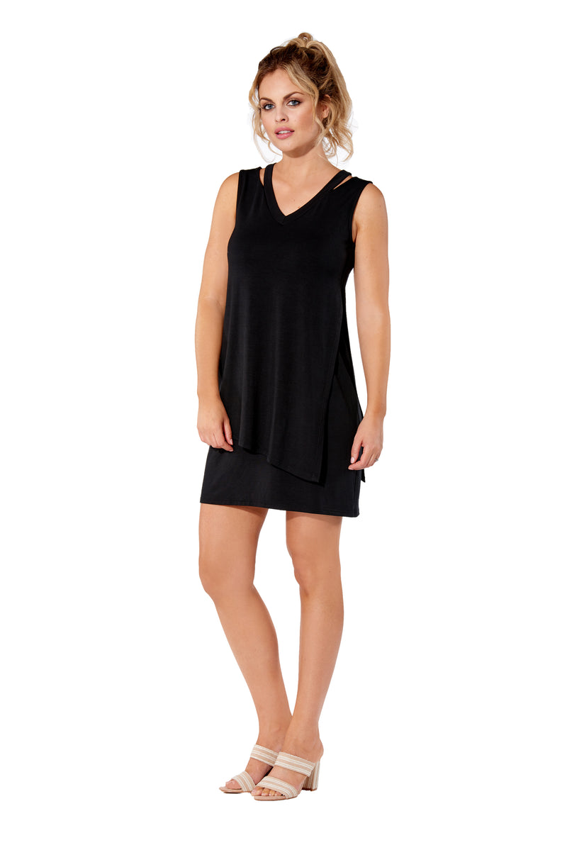 Milano Rayon Reversible  Dress
