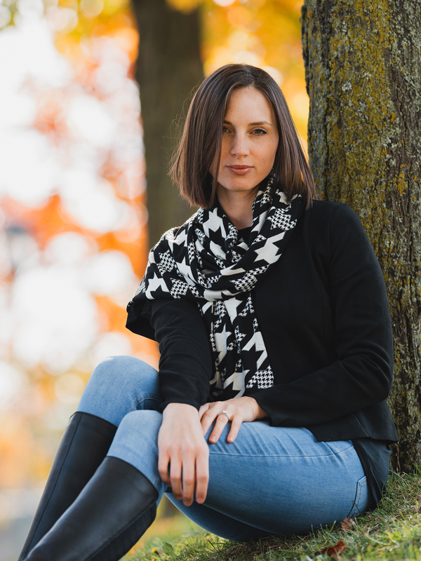 Oxford  Houndstooth Shawl