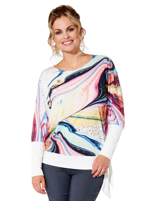 Skye Top Round Neck Long Sleeve