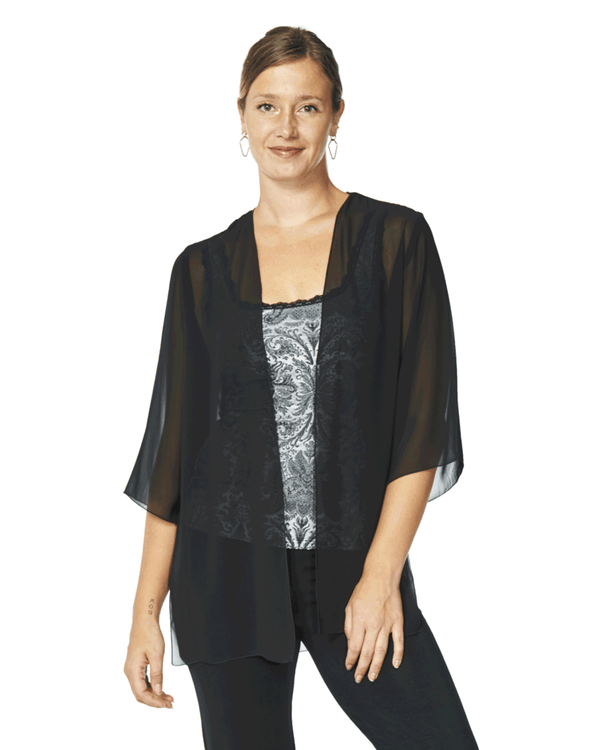 Clara Chiffon Cover-Up