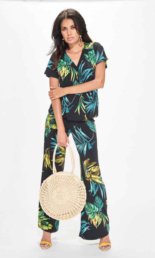 Jungle  Pull-On Wide Leg pant