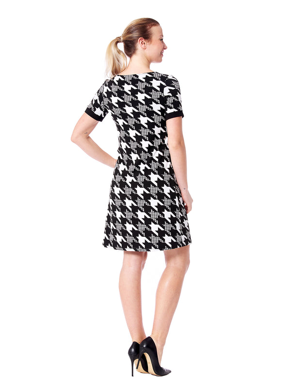 Oxford  Houndstooth Dress
