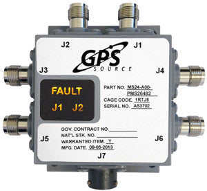 Military Qualified 2 x 4 GPS Splitter - MS24