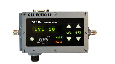 GLI-Echo II 1x1 Smart Repeater for Military GPS Retransmission Applications
