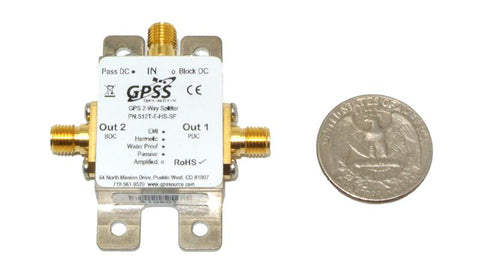 GPS 1x2 Tiny Splitter - S12T