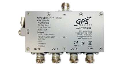 GPS 1x4 Wireless Splitter - S14WI