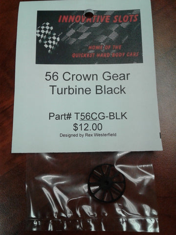Turbine 56 Tooth Crown Gear T56CG-BLK