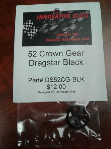 Dragstar 52 Tooth Crown Gear DS52CG-BLK