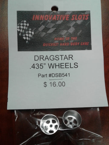"DRAGSTAR .435"" WHEELS DSB541"