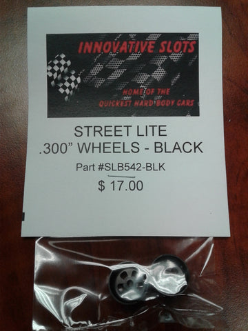 "STREET LITE .300"" WHEELS SLB542 BLACK"