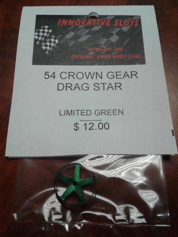 54 CROWN GEAR DRAG STAR LIMITED GREEN