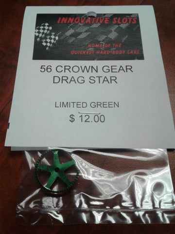 56 CROWN GEAR DRAG STAR LIMITED GREEN