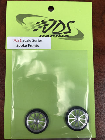 "JDS7021 - Scale Series 17"" 10 Spoke Fronts - Innovative Slots"
