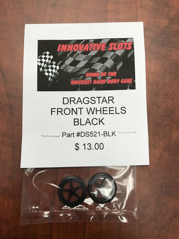 Dragstar Front Wheels-DS521-BLK
