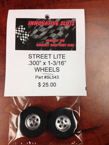 STREET LITE .300 X1-3/16 WHEELS SL543 - Innovative Slots