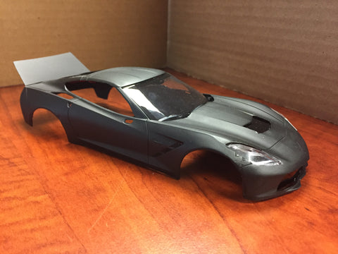 2014 Corvette Anthony M. lightened body never pinned  black
