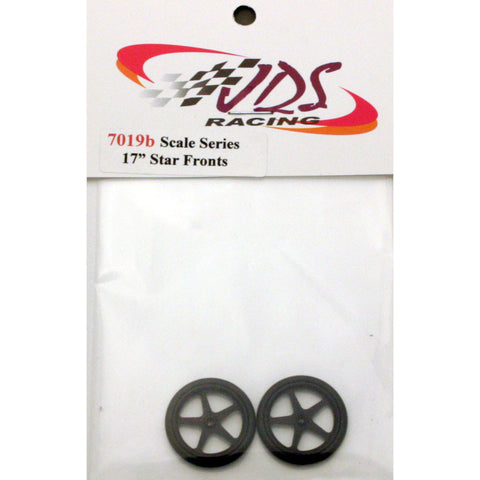 "JDS7019B - Scale Series 17"" Star Fronts (Black) - Innovative Slots"
