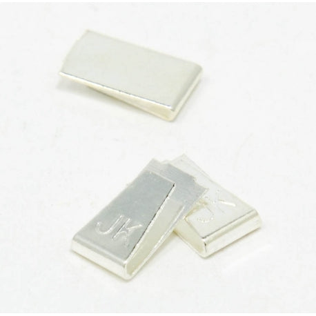 JKU28-50 - Silver Plated Copper Guide Clips (50 pr)