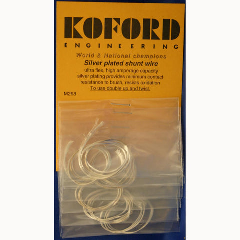 KOF268 KOFORD SILVER PLATED SHUNT WIRE - Innovative Slots