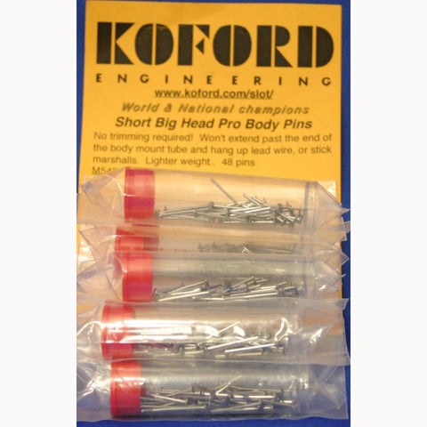 KOF545 KOFORD SHORT BODY PINS (STRAIGHT) - Innovative Slots