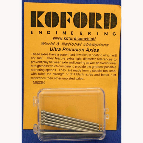 ULTRA PRECISION 3/32 AXLES -KOF623R - Innovative Slots