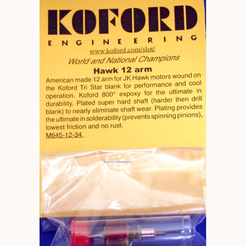 KOF645-12-30 KOFORD G12 ARM FOR HAWK 30-NEWSDEGREE TIMING