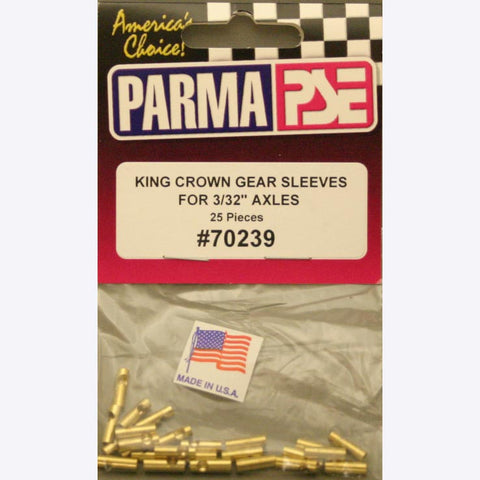 PAR70239 PARMA DRILLED GEAR SLEEVES FOR 3/32 .25EA - Innovative Slots