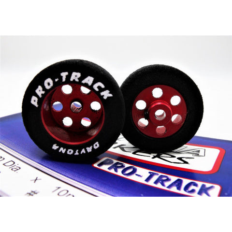 27mm x 10mm Rear Red 1/8 Axle ProTrack  PRON330R