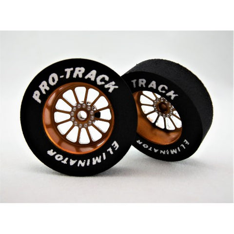 PTMN401EG PROTRACK DRAG REARS, BARRACUDA 3/32X1 1/16 X300 TURBINE GOLD