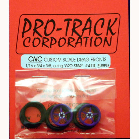 PROTRACK FRONTS 1/16X3/4 PRO STAR PURPLE-PTM411I,P - Innovative Slots