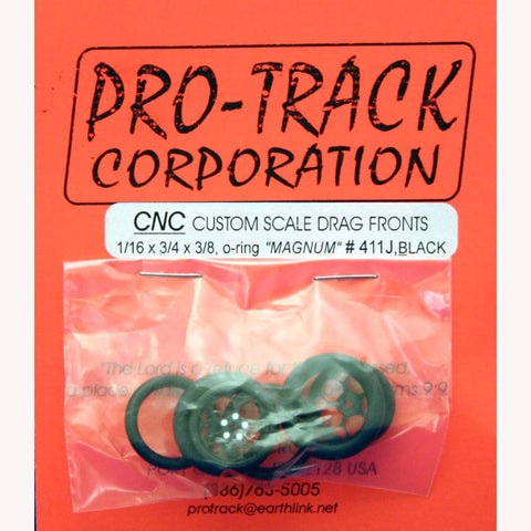 PROTRACK FRONTS 1/16 X 3/4 MAGNUM BLACK-PTM411J,BL - Innovative Slots