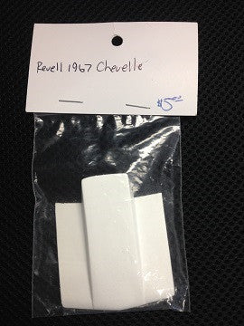 LARRY'S RESIN REVELL 67 CHEVELLE HOOD COWL - Innovative Slots