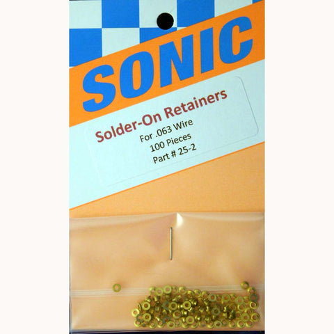 SON25-2 Brass .063 Retainers - Innovative Slots