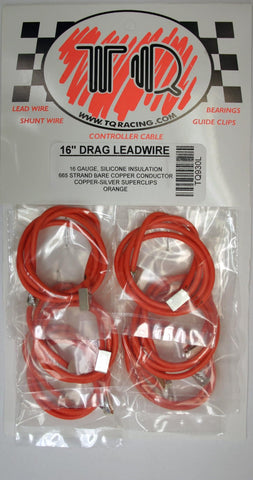 "16"" ORANGE LEADWIRE -TQR930L - Innovative Slots"