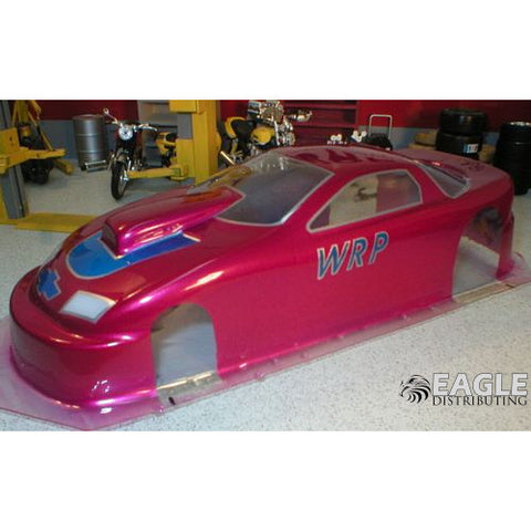 96 Camaro P/S Drag Body, Clear Lexan, w/masks WRPB35