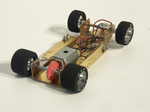 HRCH01 - HRCH01 H&R Racing Products Adjustable Wheelbase 1/24 RTR assembled Rolling Chassis Fairgrounds