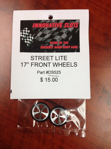 "STREET LITE 17"" FRONT WHEELS DS525 - Innovative Slots"