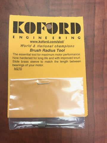 Koford Brush Radius Tool KOF270