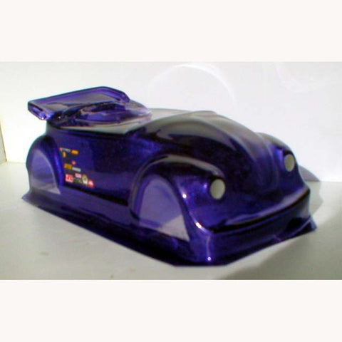 WRPB-62 - Clear Drag Body  VW BUG ROADSTER DRAG BODY - Innovative Slots