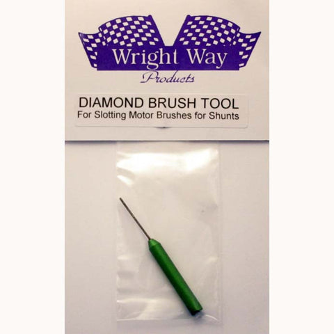 WWDBT - Diamond brush tool: for slotting motor brushes for shunt wire. - Innovative Slots