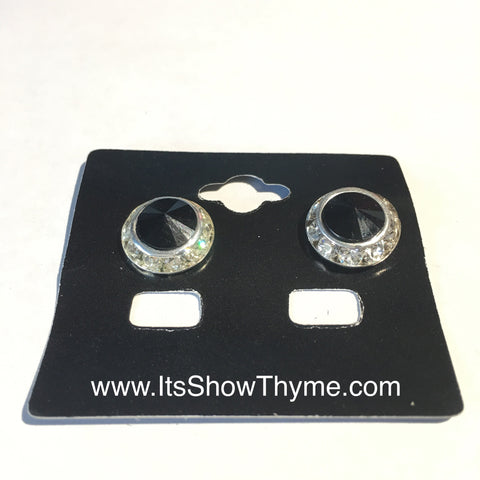 Earrings Black - Its  Show Thyme