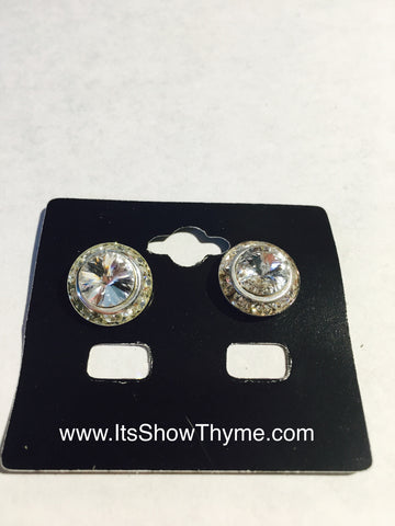 Earrings Clear - Its  Show Thyme