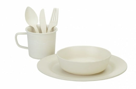 Bamboo Dinner Set - 7 Piece