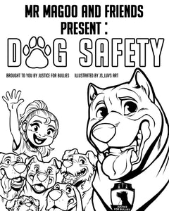 Kids- Digital Download Coloring Book English – Justice for Bullies