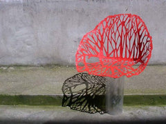 Early prototyping of the Vegetal Chair