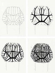 early sketches of the Vegetal Chair