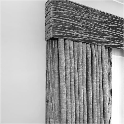 Matching pelmet and curtains - Soft Furnishings